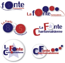 Planche de logos palet club de Chantonnay